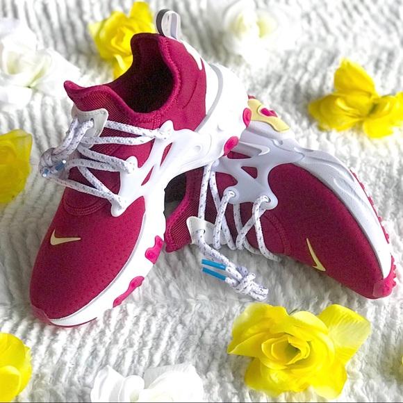 Nike react Presto women's size 5.5 noble red NWT